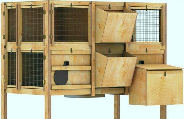 Как изготовить клетку для кроликов: виды конструкций, варианты изготовления клеток своими руками