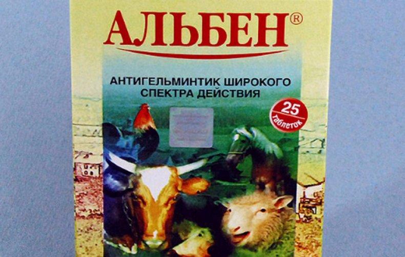 Альбен для свиней: как давать поросятам