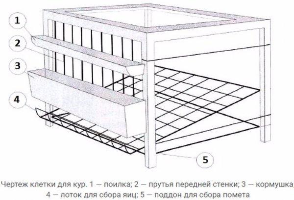 Изготовление клеток для бройлеров своими руками