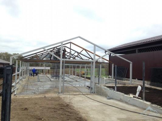 Ферма для крс на 100 голов - проект и строительство