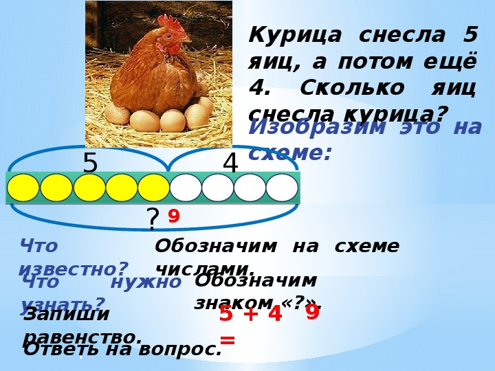 Размер куриного яйца