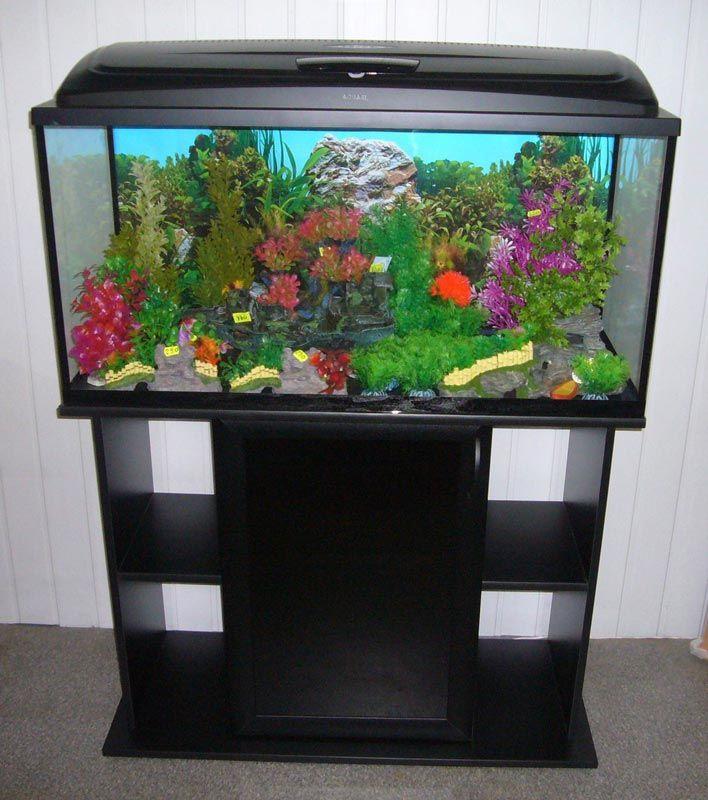 Тумба под средний аквариум