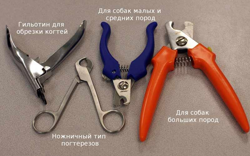 Инструменты для подстрижки