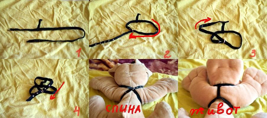 Инструкция на игрушке