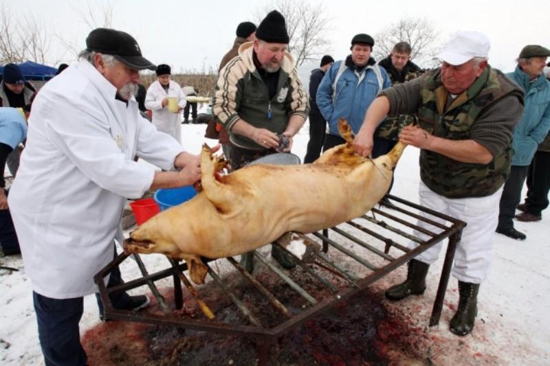 Какими способами можно зарезать свинью