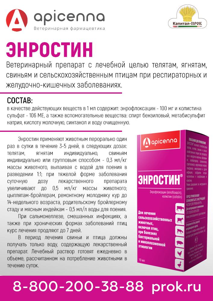 """Инструкция по применению препарата """"байтрил"""" в ветеринарии для птиц"""