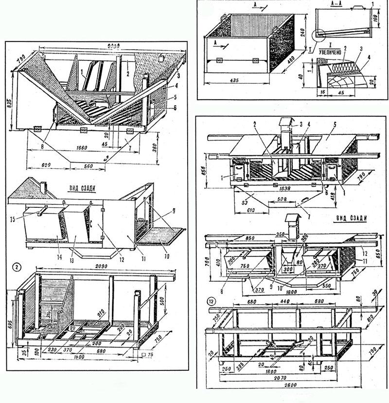 Как сделать клетку для кроликов своими руками: пошаговые инструкции с чертежами и размерами, в том числе по принципу золотухина