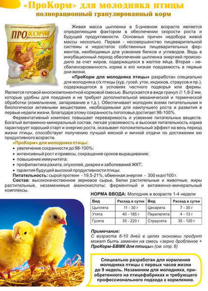 Как поить цыплят витамином тривит