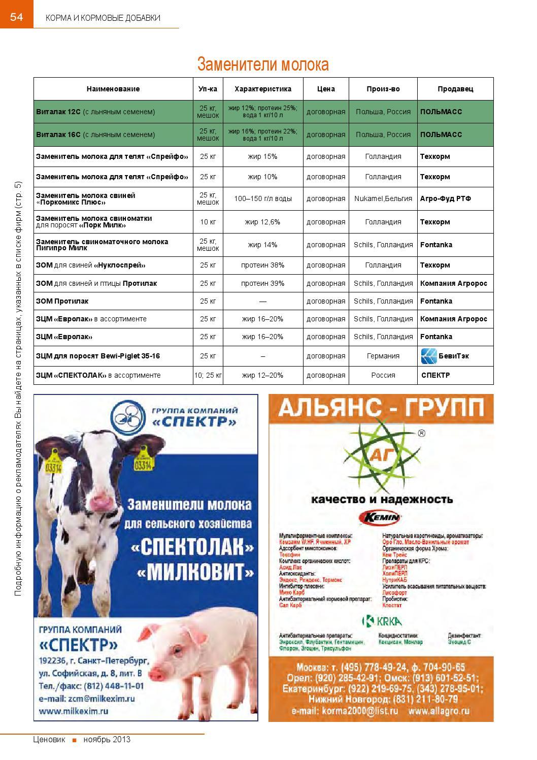 Кормилак: зцм (заменитель цельного молока) для поросят, как разводить и инструкция по применению