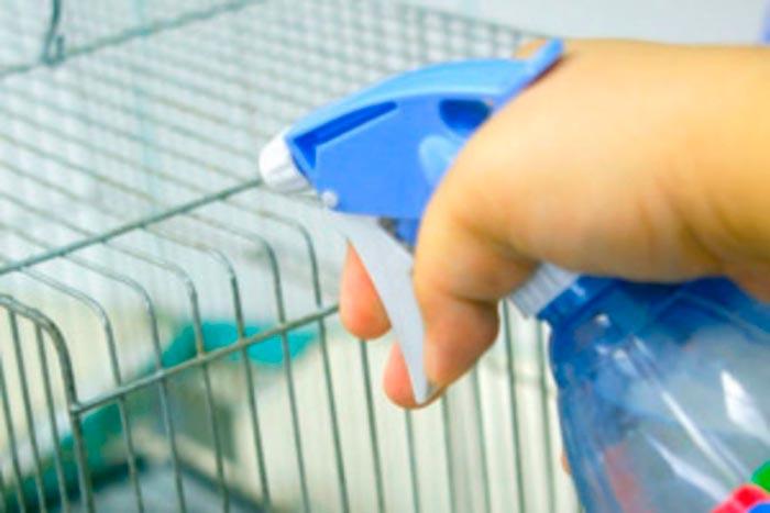 Дезинфекция кроличьих клеток своими руками: подробная инструкция + список препаратов