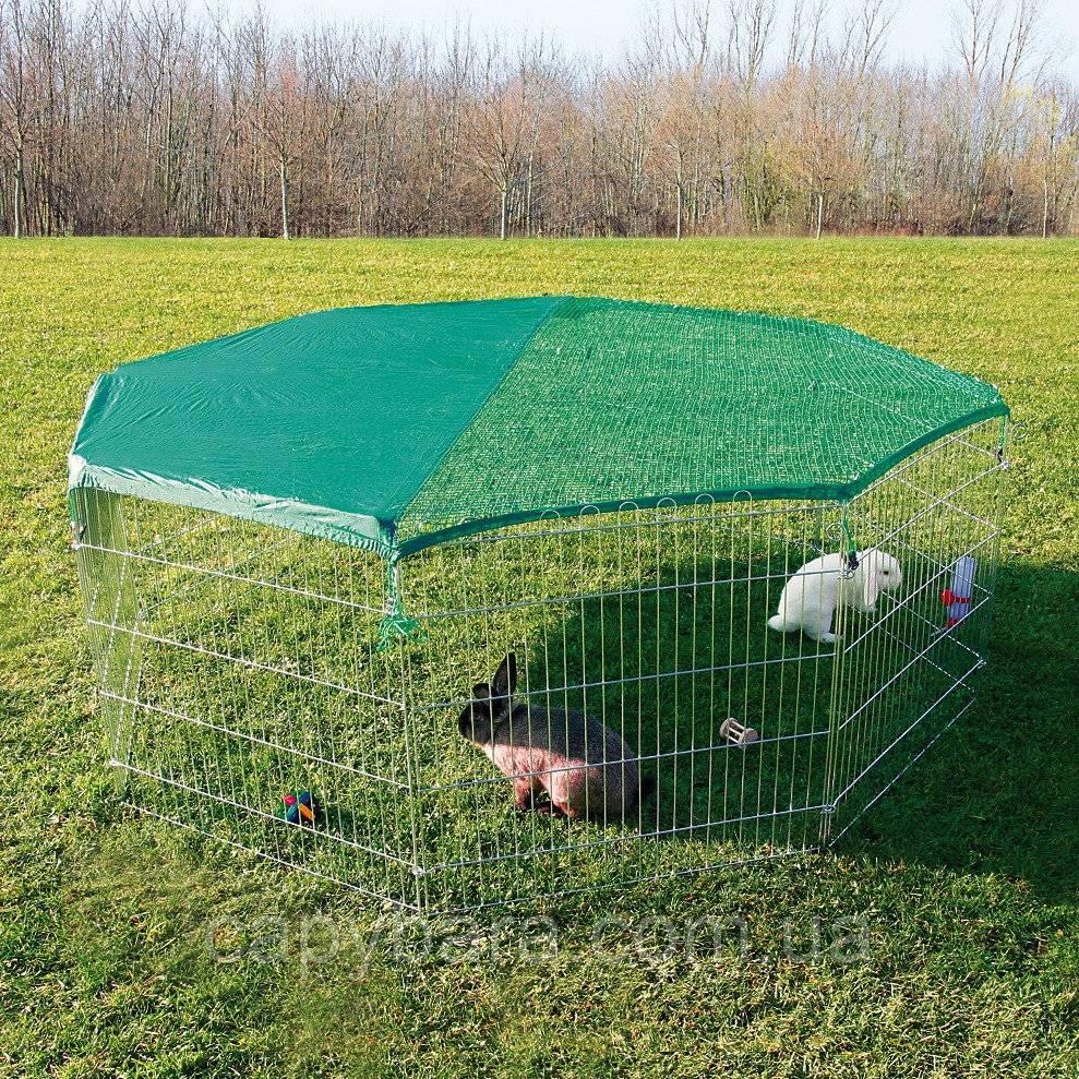 Вольеры для кроликов: содержание и разведение в них, инструкция постройки и фото