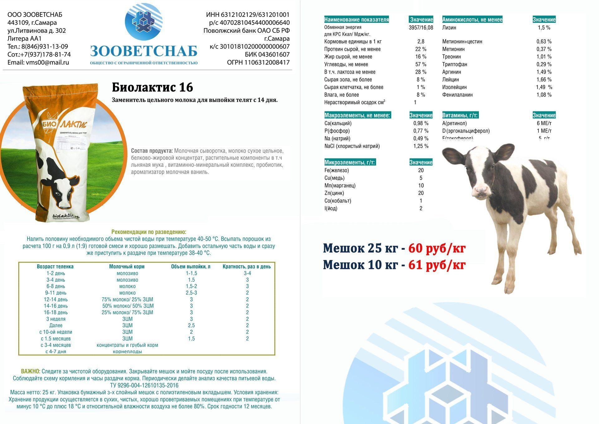 Заменитель цельного молока для телят: как правильно разводить сухое молоко? какой заменитель лучше выбрать? как кормить теленка?