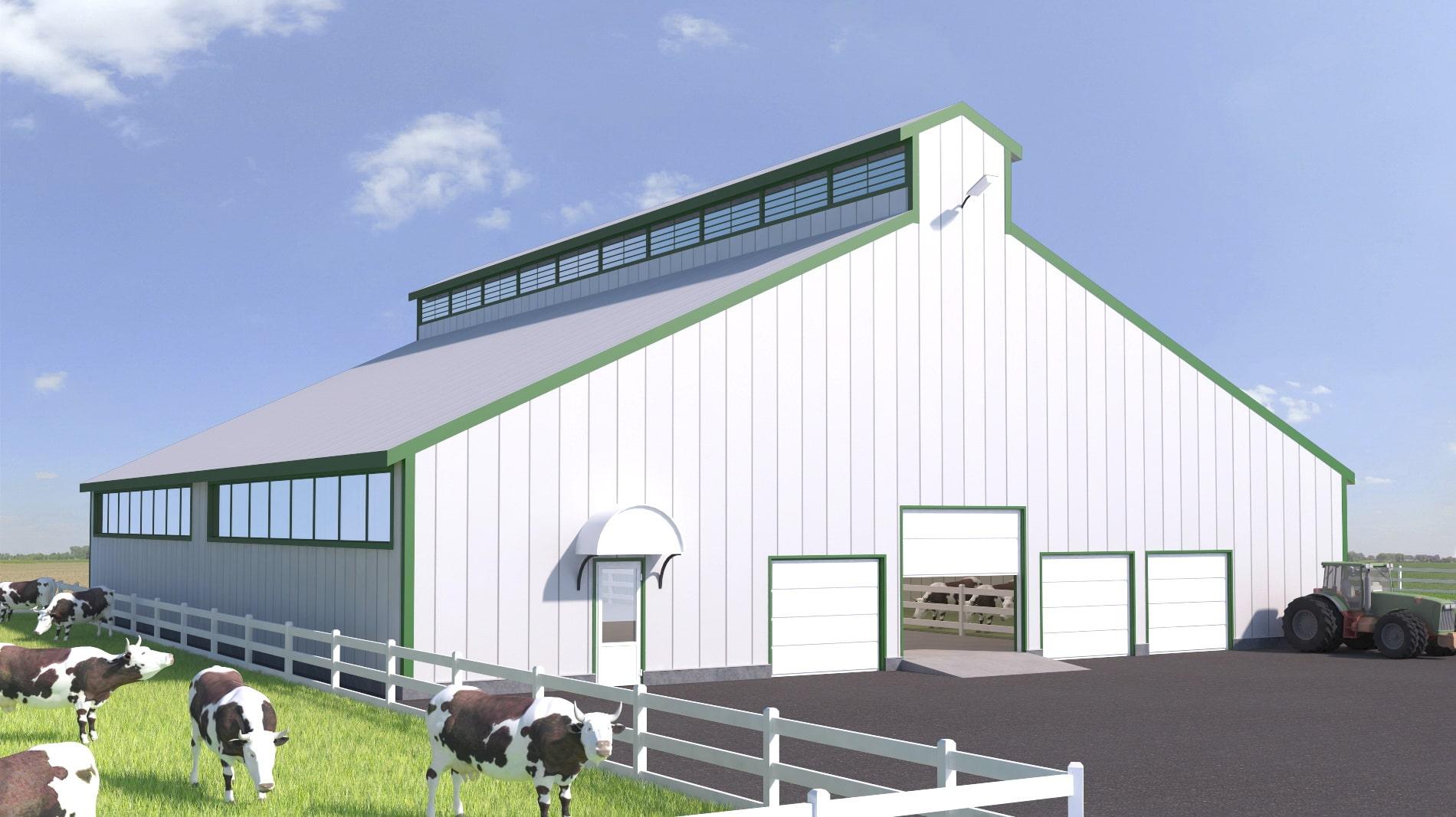 Как построить мини ферму крс: проектирование, технология производства молока