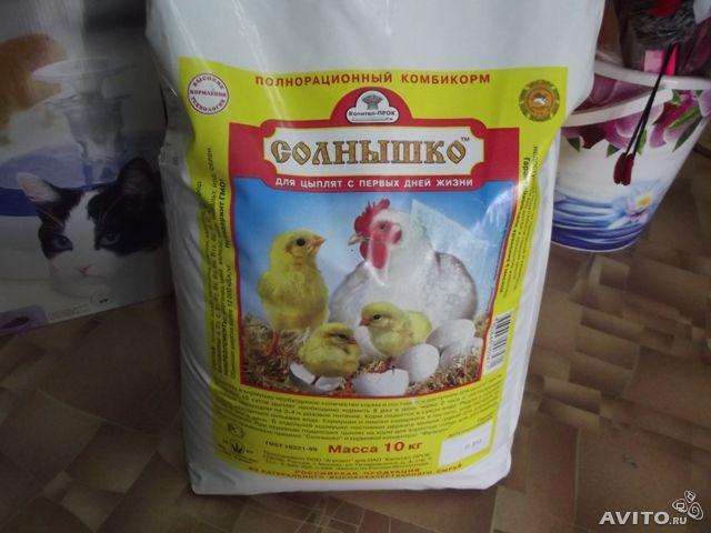 Комбикорм для цыплят: состав, разновидности, преимущества