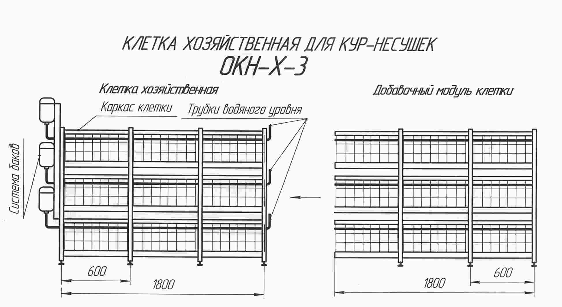 Клетка для бройлеров своими руками: руководство и чертежи