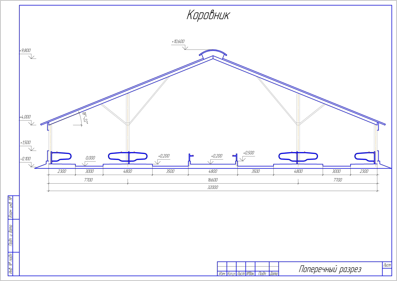Как построить коровник своими руками — cельхозпортал