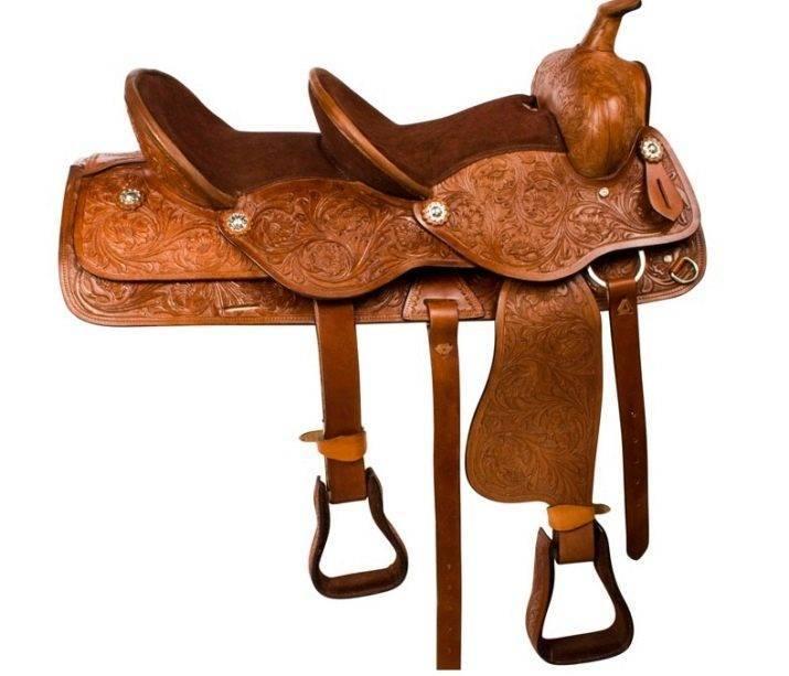 Седло для лошади — обзор видов и как сделать самому?