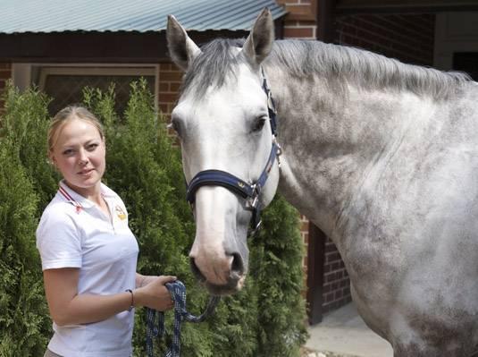 Дрессировка лошадей - horse training