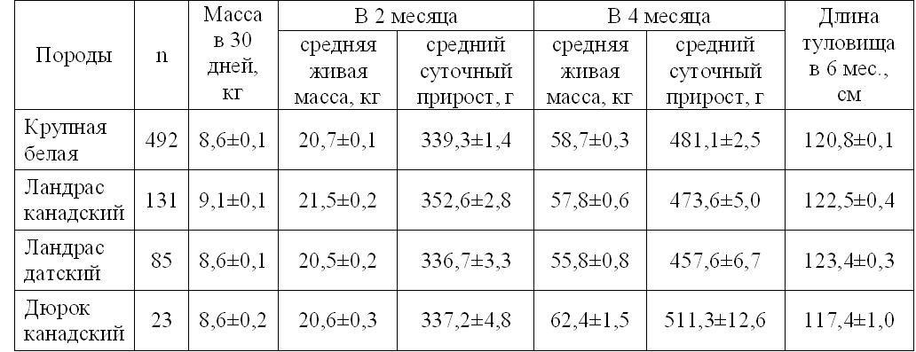 ✅ сколько должен весить поросенок в 1 месяц - питомник46.рф