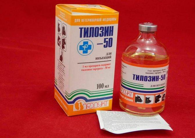 Тилозин 200: инструкция по применению в ветеринарии. как применять тилозин для кур